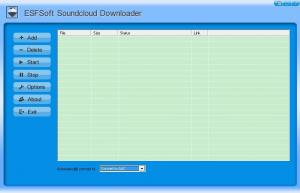ESFSoft Soundcloud Downloader 1.0 - náhled