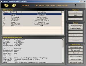 Monitorovací systém Dozorce 3 - náhled
