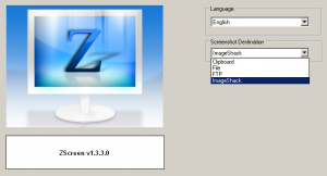 ZScreen 2.10.8.1 - náhled