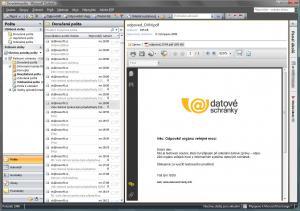 Správce datové schránky 1.1.9 - náhled
