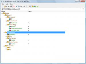 STDU XML Editor Portable 1.0 - náhled