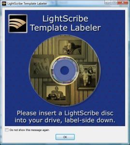 LightScribe Template Labeler 1.18.27.10 - náhled