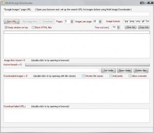 MultiImageDownloader 1.6 - náhled