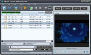 Full Video Converter Full 10.3.9 - náhled