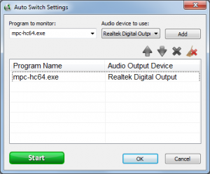 Audio Output Switcher 1.0.4.23 - náhled