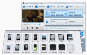 WonderFox DVD to Apple Device Ripper 3.0 - náhled