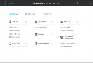 Bitdefender Total Security - náhled