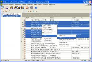 Vzhled klientské aplikace - náhled