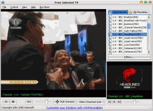 Free Internet TV 7.1 - náhled