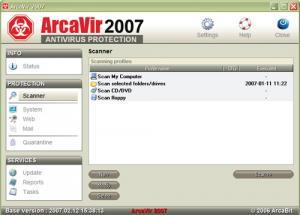 ArcaVir 2010 - náhled