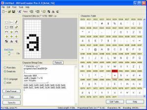 BitFontCreator 2.3.2 - náhled
