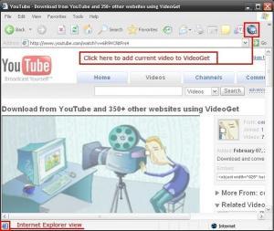 VideoGet 4.0.2.56 - náhled