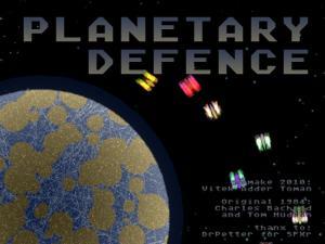 Planetary Defence 3.0 - náhled