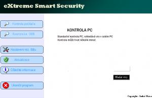 eXtreme Smart Security 2.0 - náhled