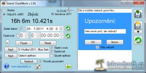 Island ClockWork 2.0 - náhled