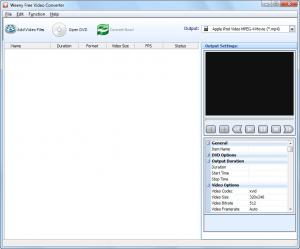 Weeny Free Video Converter 1.5 - náhled
