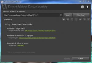 Direct Video Downloader 1.12 - náhled