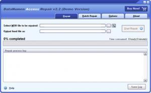 DataNumen Access Repair 3.8 - náhled