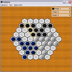 Hra tří hráčů - náhled