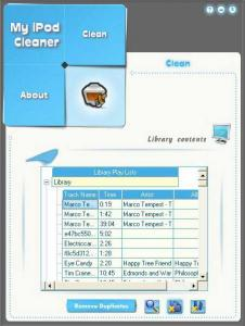 MY iPod Cleaner 1.2.0.0 - náhled