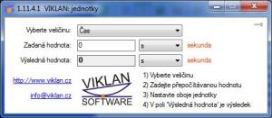 VIKLAN Jednotky 1.15.10.1 - náhled