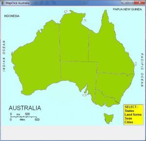 MapClick Australia - náhled