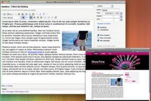 Saurus CMS 4.7 - náhled