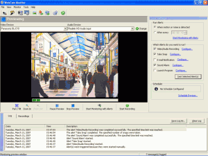 WebCam Monitor 6.21 - náhled