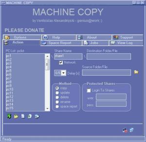 Machine Copy 1.4.3 - náhled