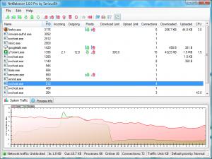 NetBalancer 9.8.3 - náhled