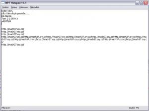 WPF Notepad 1.4 - náhled