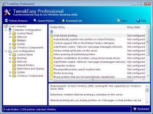 TweakEasy Professional 4.4 - náhled