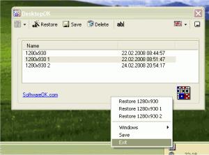 DesktopOK 4.71 - náhled