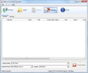Weeny Free Audio Converter 1.4 - náhled