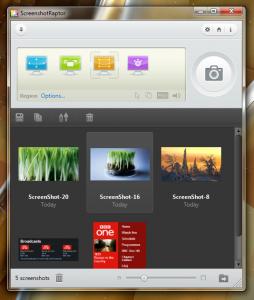 ScreenshotRaptor 1.6.0 - náhled