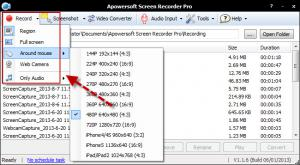 Apowersoft Desktop Screen Recorder Pro 1.3.2 - náhled