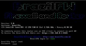 BrazilFW Firewall and Router 3.0.259 - náhled