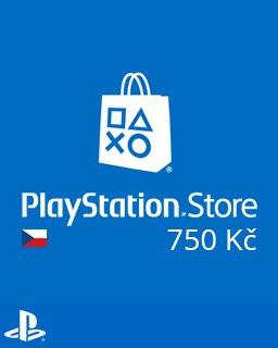 PlayStation Live Cards 750Kč - Plná verze - 1 licence