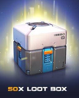 Overwatch 50 Loot Box