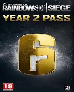 Tom Clancys Rainbow Six Siege Season Pass Year 2 - Plná verze - 1 licence
