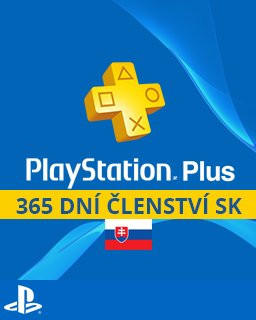 PlayStation Plus 365 dní SK - Plná verze - 1 licence