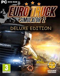 Euro Truck Simulator 2 Deluxe Edition - Plná verze - 1 licence