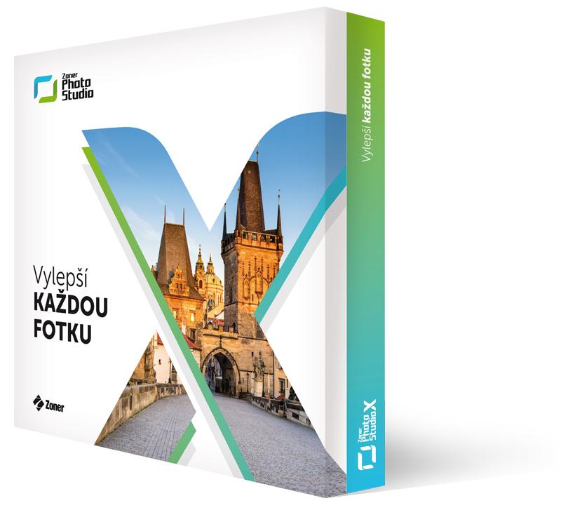 Zoner Photo Studio X - Licence pro 1 uživatele na 1 rok - 1 licence