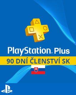 PlayStation Plus 90 dní SK - Plná verze - 1 licence