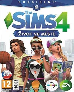 The Sims 4 Život ve městě - Plná verze - 1 licence