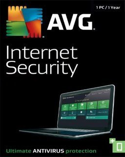 AVG Internet Security 2017 1 lic. 1 rok - Plná verze - 1 licence