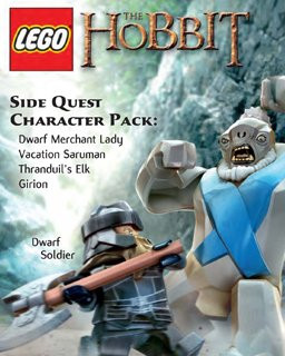 LEGO The Hobbit - Side Quest Character Pack - Plná verze - 1 licence