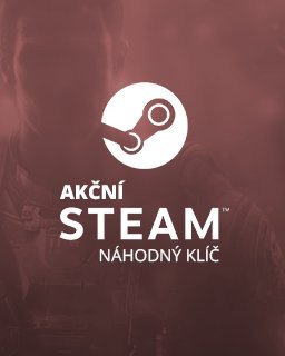Akční náhodný steam klíč