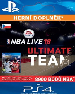 NBA Live 18  Ultimate Team 8900 Points
