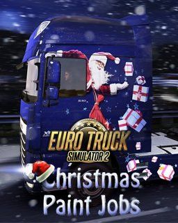 Euro Truck Simulátor 2 - Christmas Paint Jobs Pack